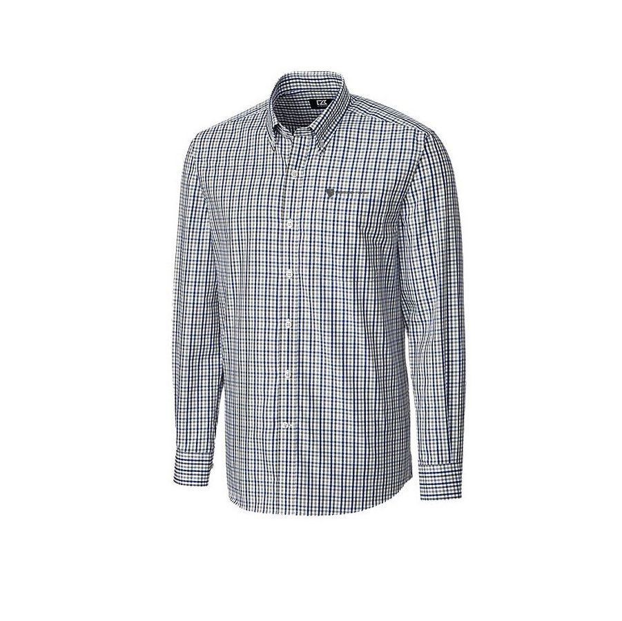 Cutter & Buck Men's Gilman Plaid w/ Embroidered Logo 00003