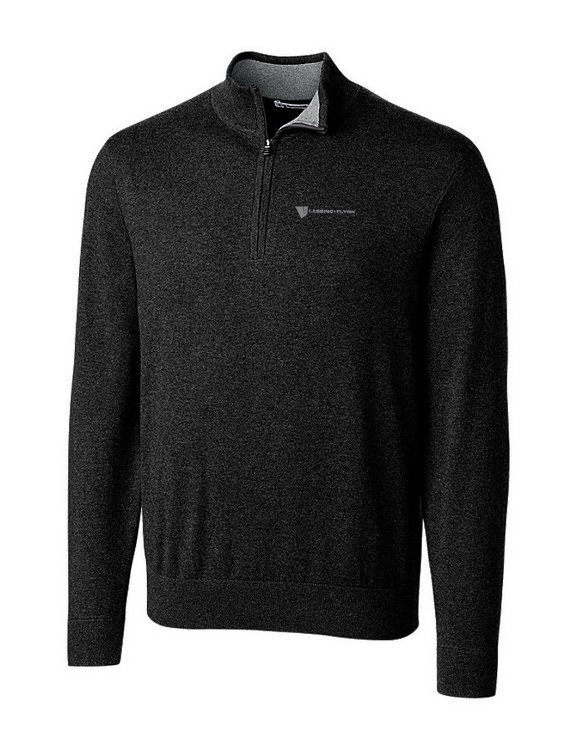 Cutter & Buck Lakemont Half Zip Sweater-Men's w/ Embroidered Logo YVLDJ-LNIGL