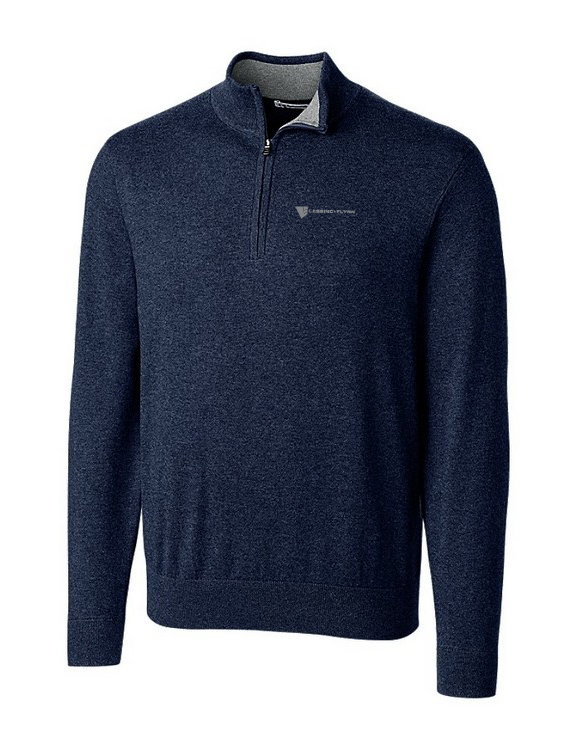 Cutter & Buck Lakemont Half Zip Sweater-Men's w/ Embroidered Logo