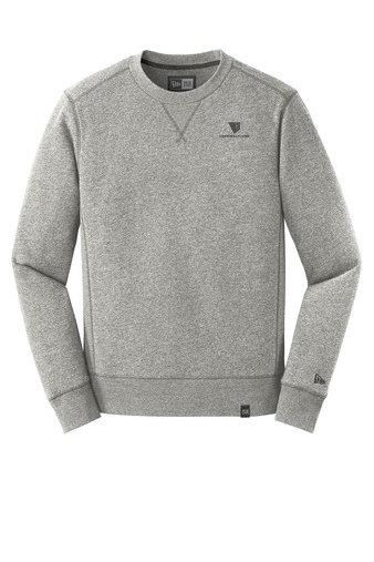 New Era® French Terry Crew Sweatshirt w/ Heat-Sealed Logo JUIIJ-MALLP