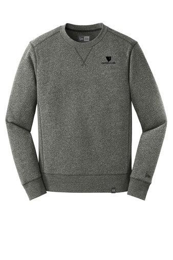 New Era® French Terry Crew Sweatshirt w/ Heat-Sealed Logo