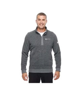 Under Armour Men's Elevate 1/4 Zip Sweater w/ Embroidered Logo 00001