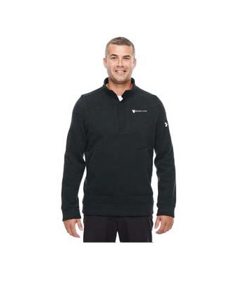 Under Armour Men's Elevate 1/4 Zip Sweater w/ Embroidered Logo