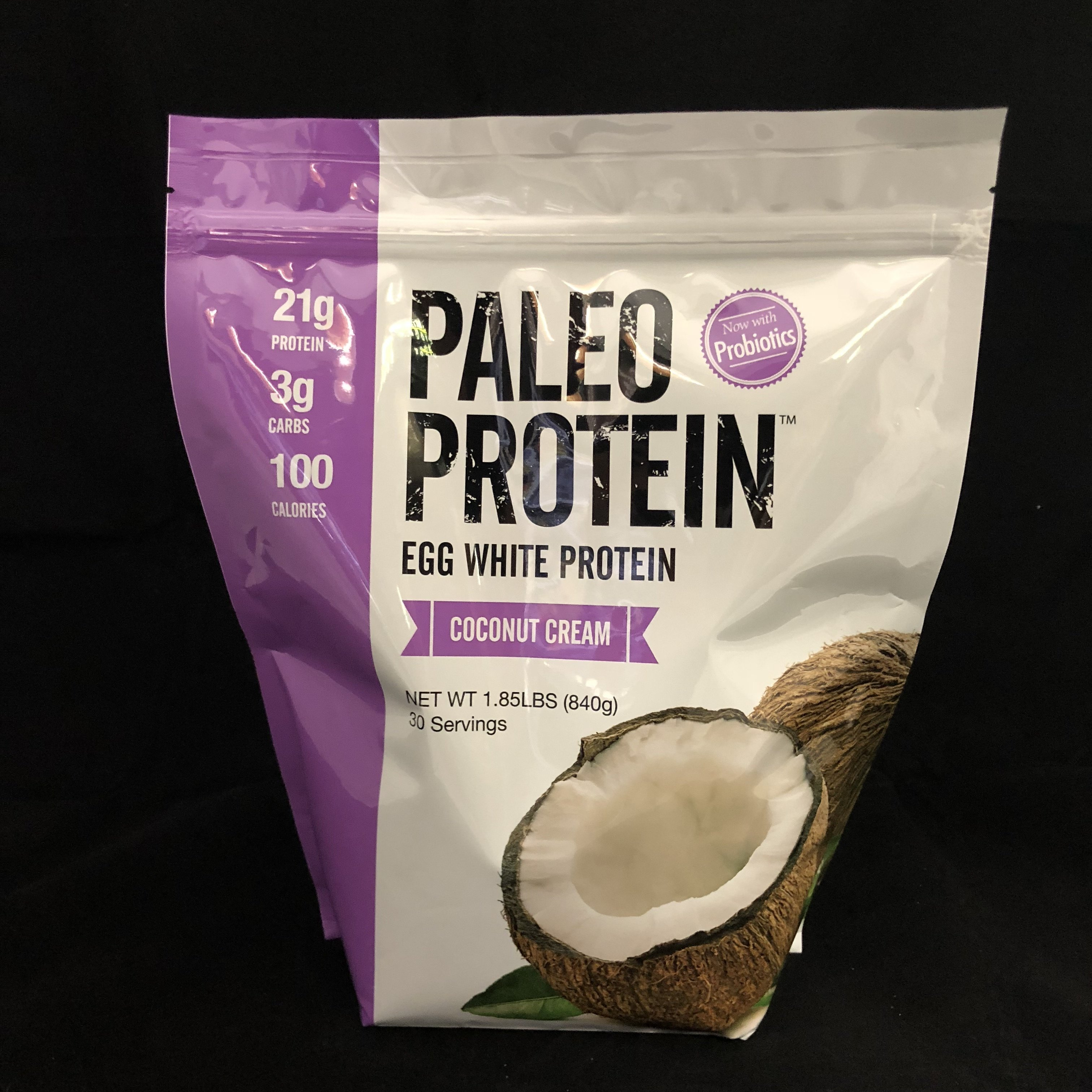 Paleo Protein Coconut Cream 813926004164