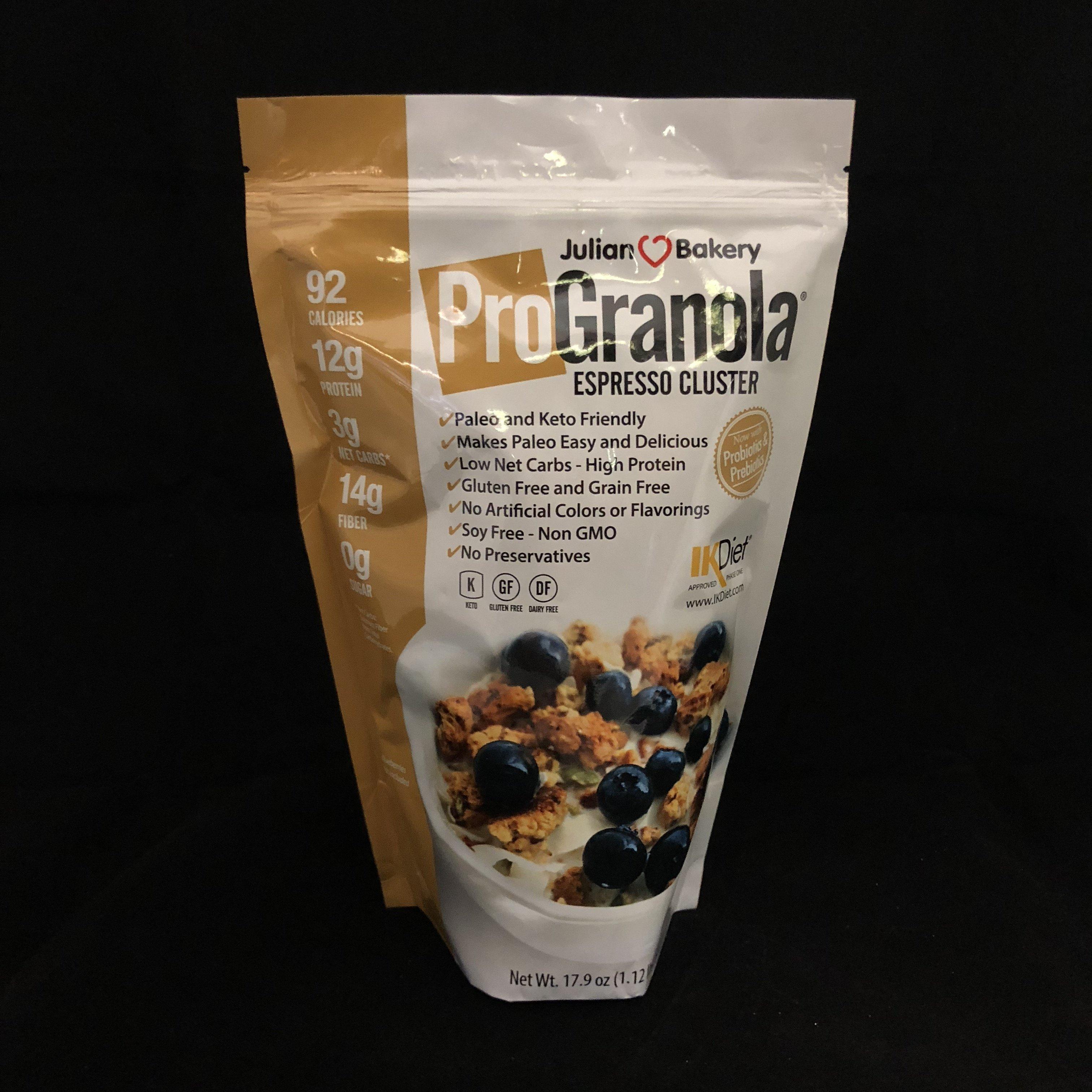 Pro Granola Cereal Espresso  813926005086