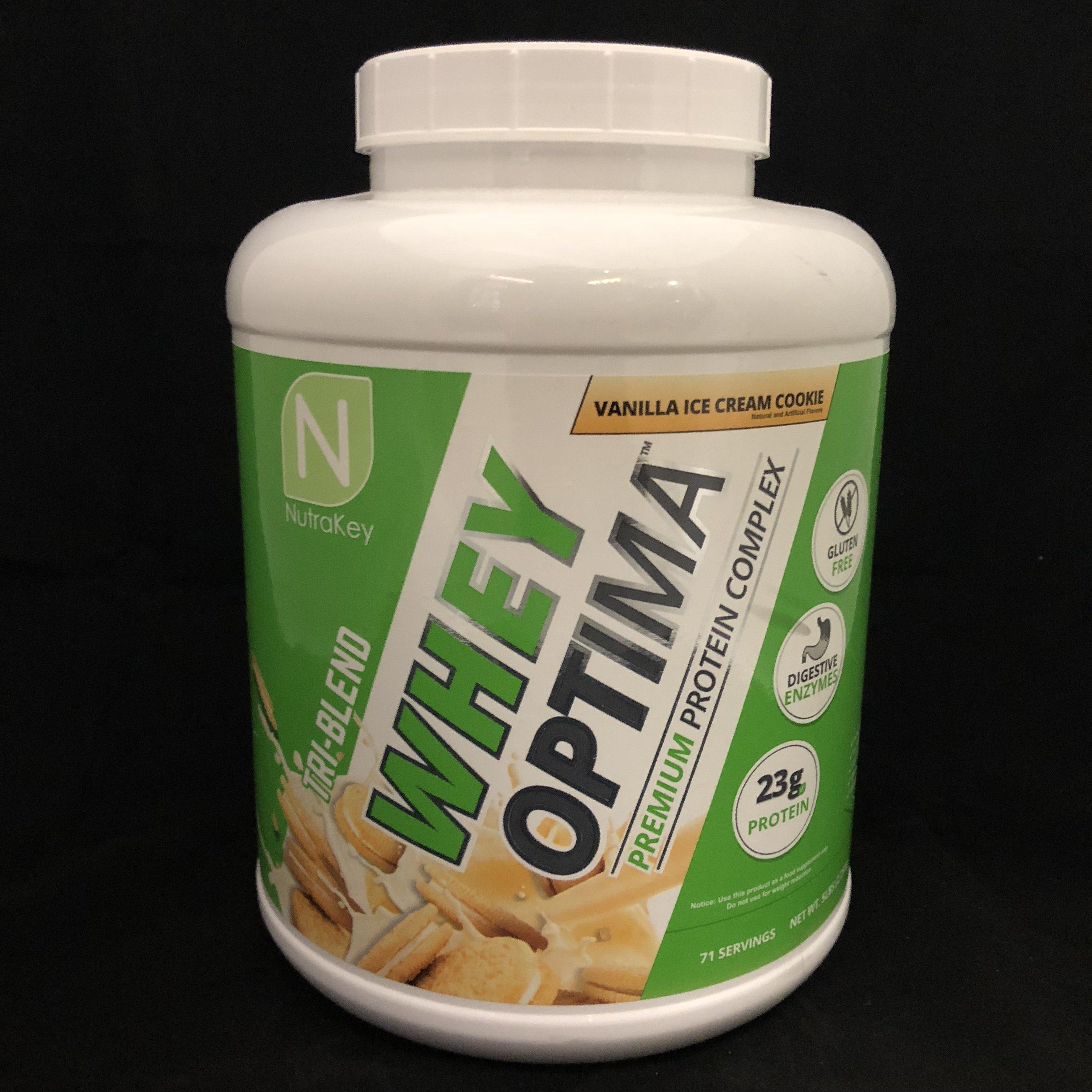 NutraKey Vanilla Ice Cream 851090006256