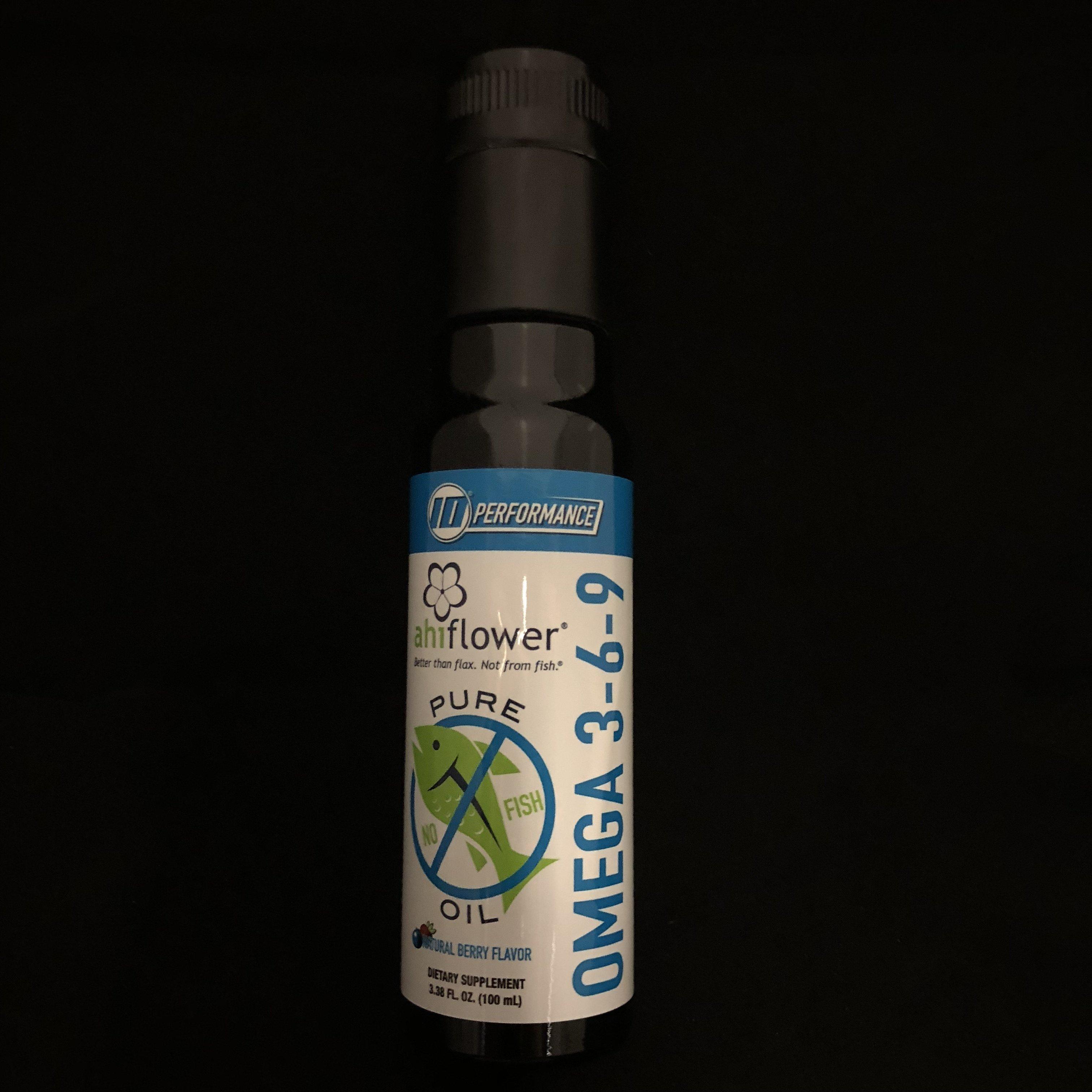 AhiFlower Oil Omega 3-6-9 818016014986