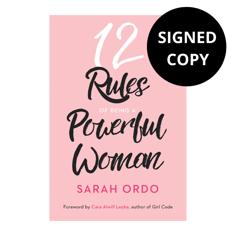 12 Rules Of Being A Powerful Woman (Signed Copy)