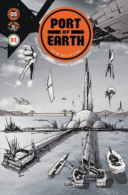 Port of Earth #1 Cover A (Andrea Mutti)