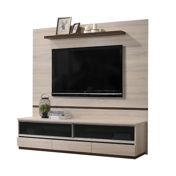 6' Wall Mounted TV Cabinet