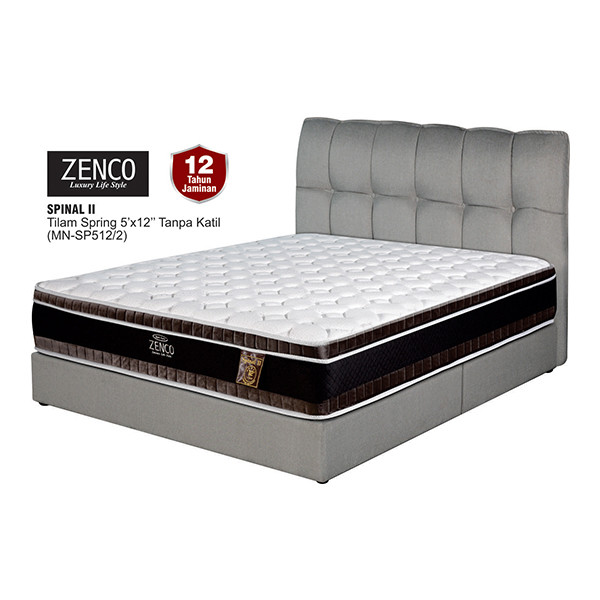 "Zenco 12"" Spring Mattress - Queen/King"