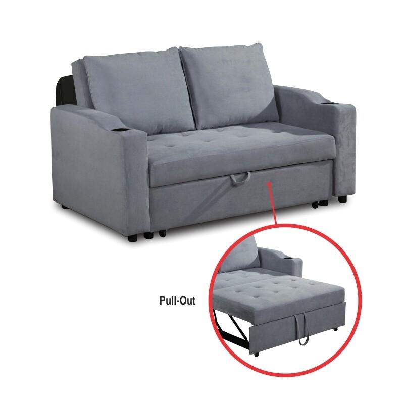Fabric Sofa Bed (Vesga)