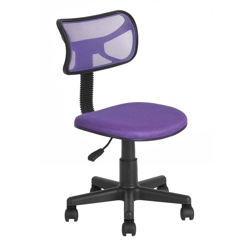 Adjustable Office Chair w/o Armrest (Dias Purple)