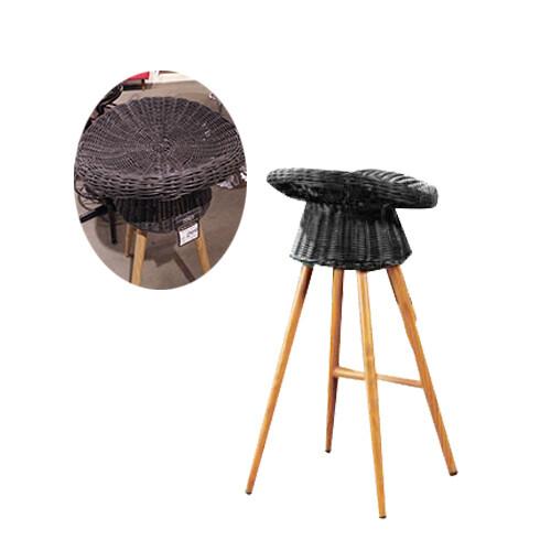 Garden Bar Chair (Rattan)