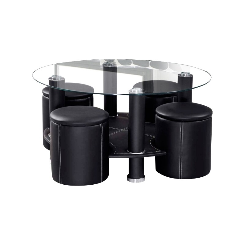 Coffee Table 1+4 set (Nuremerg 5pcs)