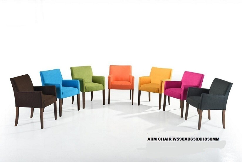 Dining Chair (Green/Blue/Grey)