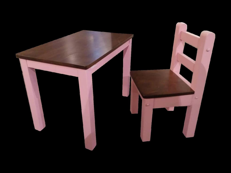 Children Study Table U0026 Chair  Pink