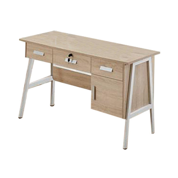 4' Modern Oak Study Table