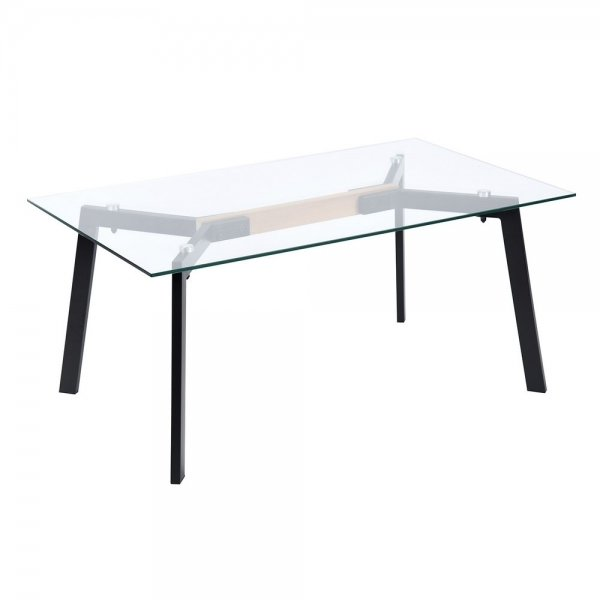 Coffee Table With Glass Top (Spender)