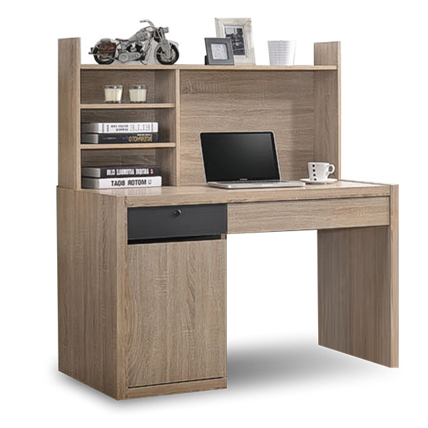 Study Table with bookshelf