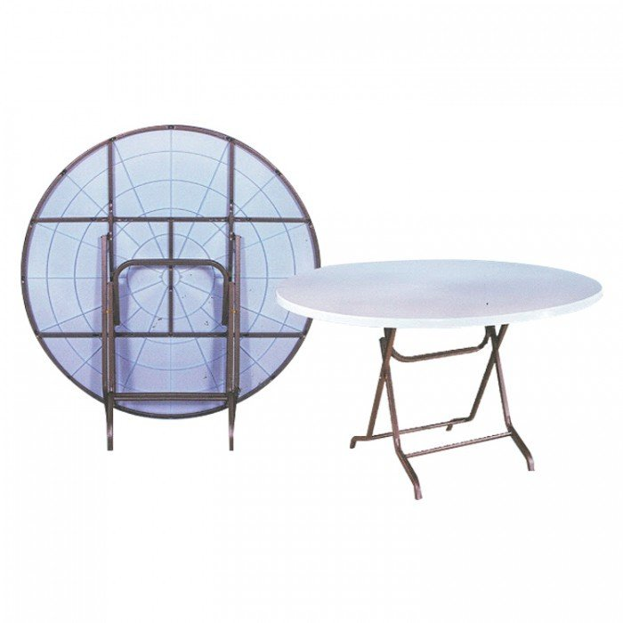 4ft Round Plastic Table