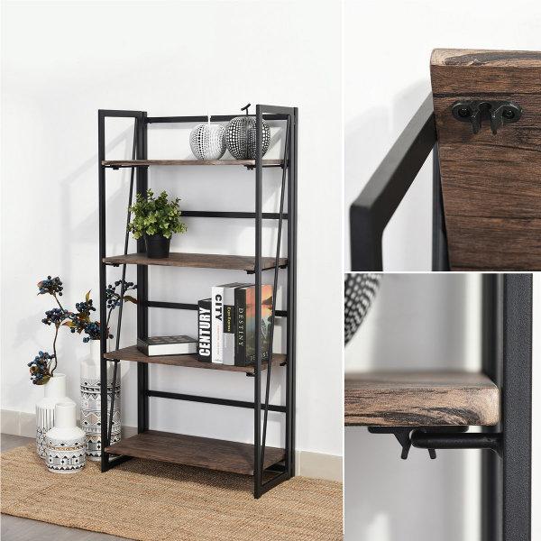 4-Tier Living Cabinet (Backer)