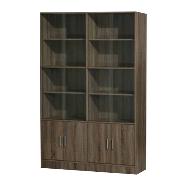 4' Filing Cabinet with glass