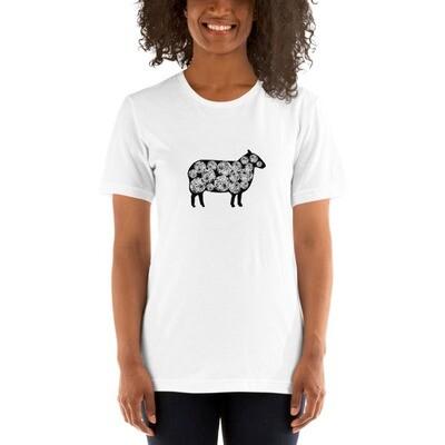 Yarn Ball Sheep Short-Sleeve Unisex T-Shirt