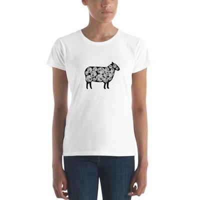Yarn Ball Sheep Women's short sleeve t-shirt