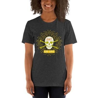 Knit or Dye Short-Sleeve Unisex T-Shirt