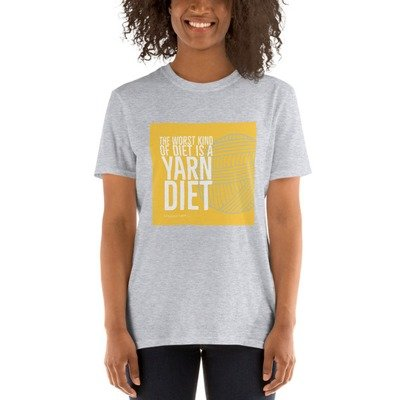 Yarn Diet Unisex T-Shirt