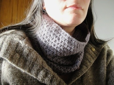 Quilted Cowl CHOCKA Yarn base