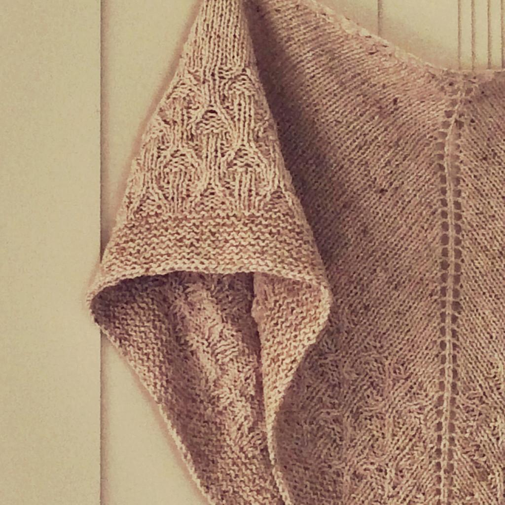 Terracotta Shawl BEAUT Yarn Base