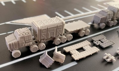 6mm Goliath (x3) Convoy with upgrades