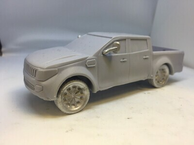 28mm Resin 4x4 Pick up