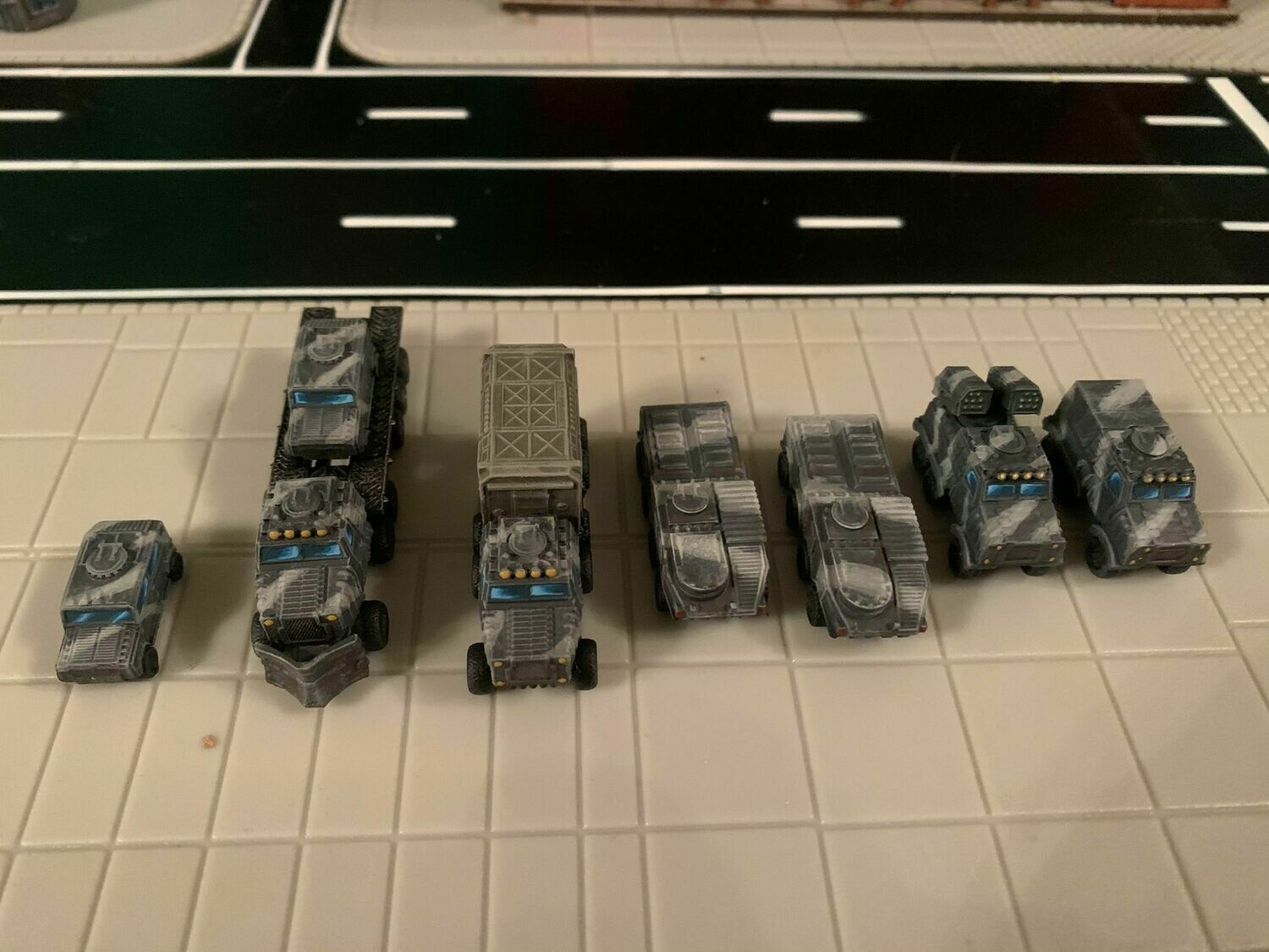 6mm Military Convoy