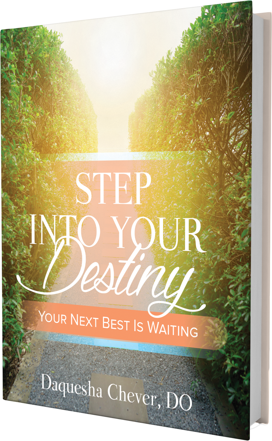 """Step Into Your Destiny """"Your Next Best Is Waiting"""""""