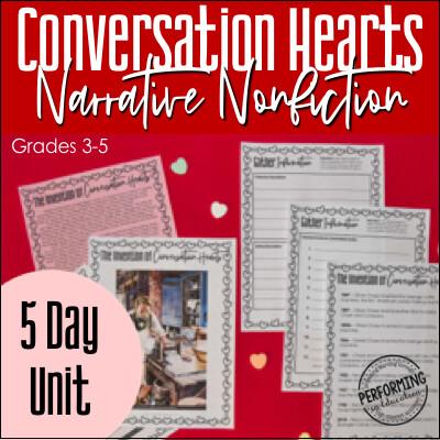 Narrative Nonfiction Valentine's Day Writing Unit