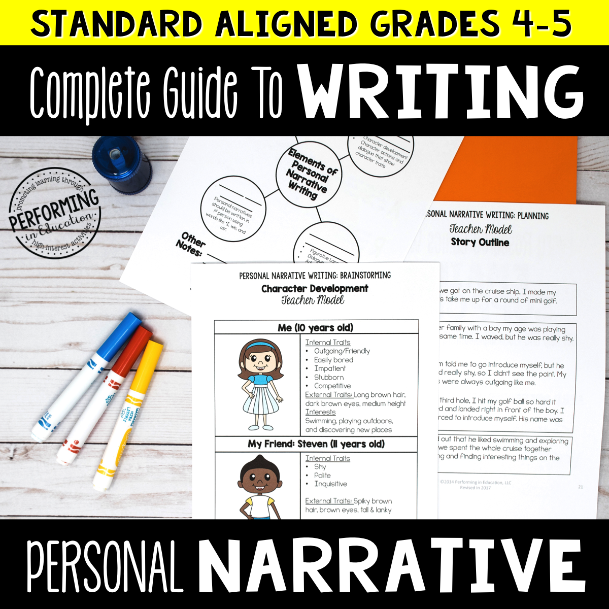 Complete Guide to Teaching Personal Narrative Writing Grades 4-5 00004