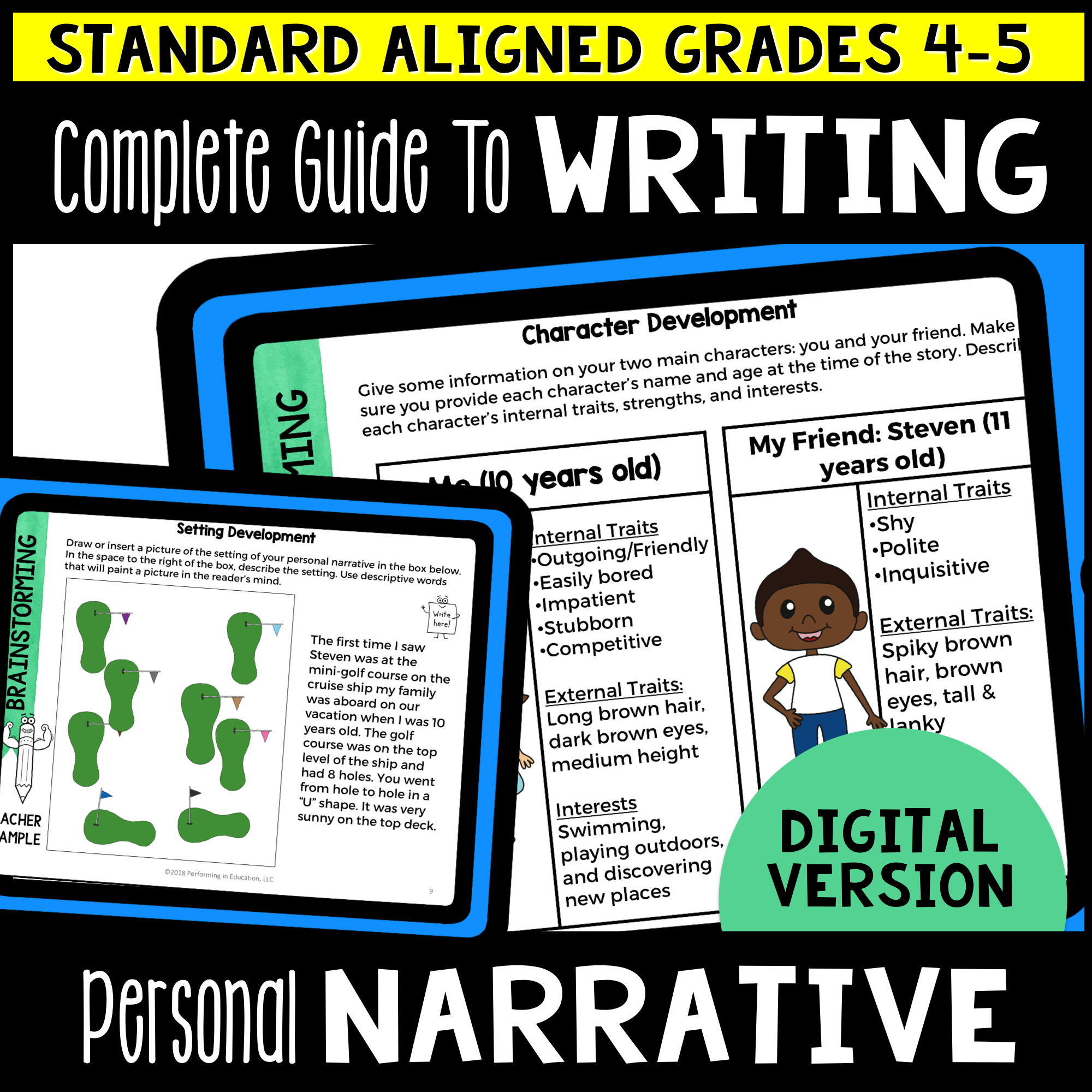 Complete Guide to Teaching Personal Narrative Writing Grades 4-5