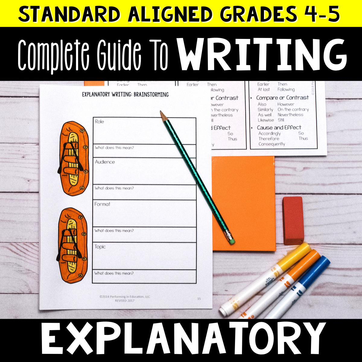 Complete Guide to Teaching Explanatory Writing Grades 4-5 (Expository) 00006