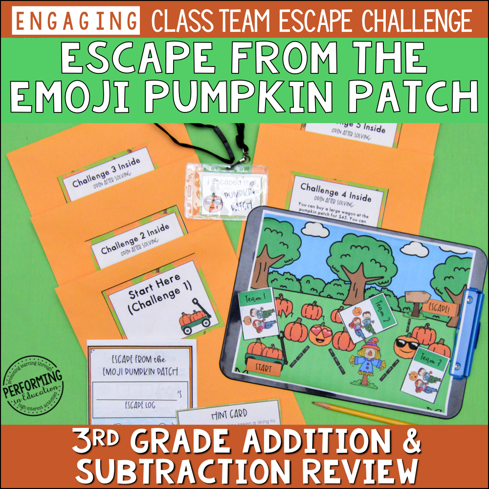 3rd Grade Addition & Subtraction Review (Fall) 00012