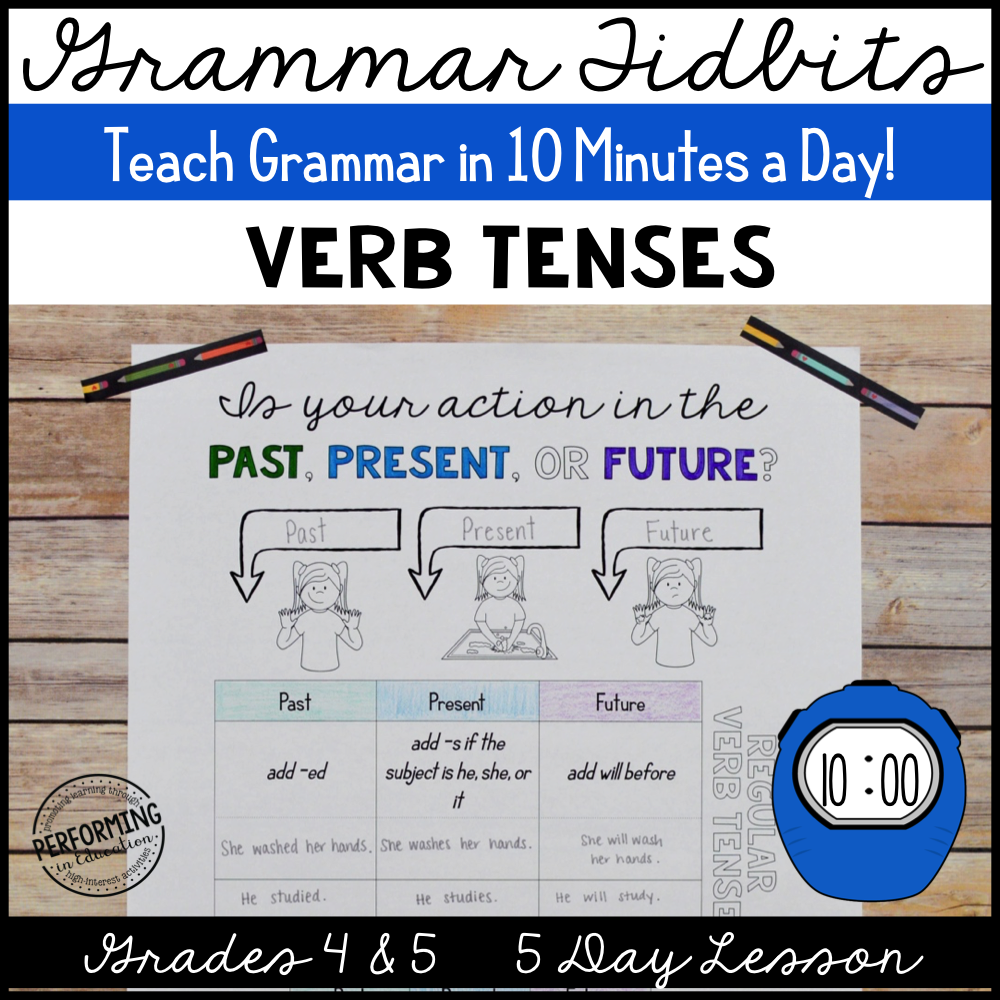 Grammar Tidbits: Verb Tenses 00032