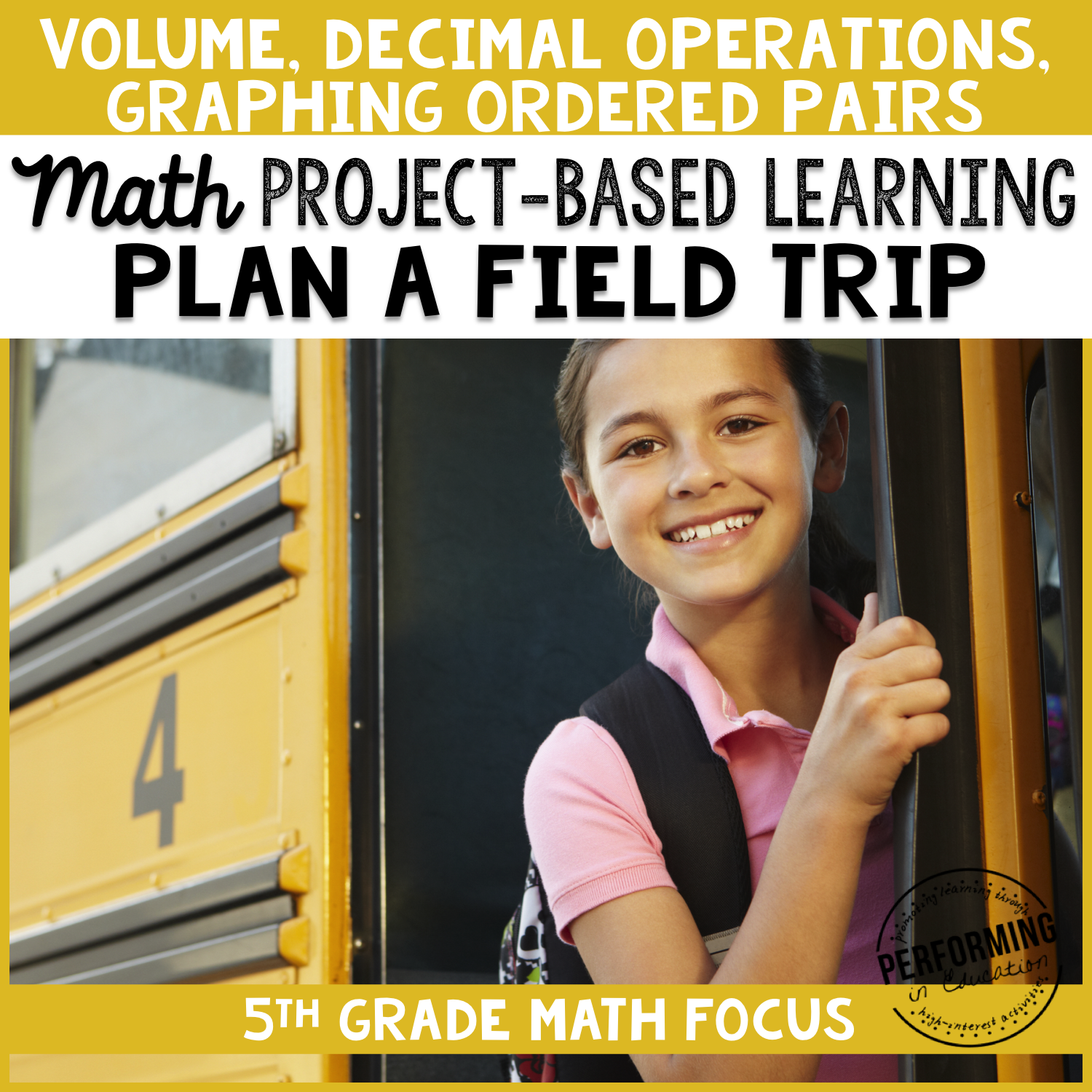 5th Grade Project Based Learning: Plan a Class Field Trip 00041