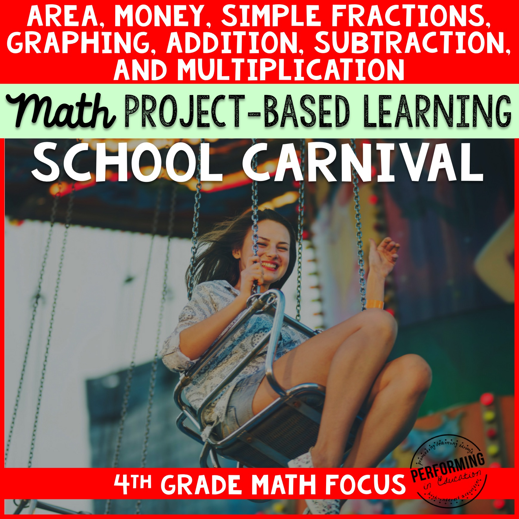 Project Based Learning for 4th Grade Math: School Carnival 00049