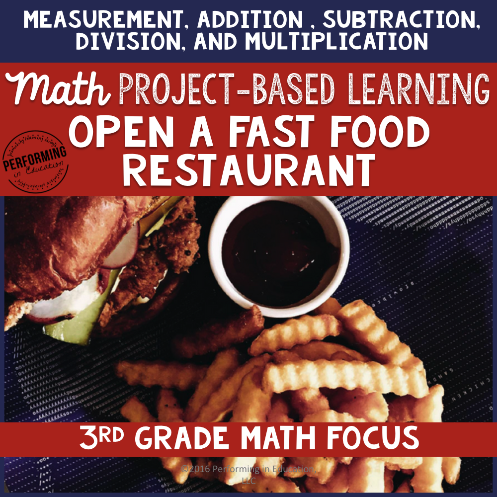 Project Based Learning for 3rd: Open a Fast Food Restaurant 00056