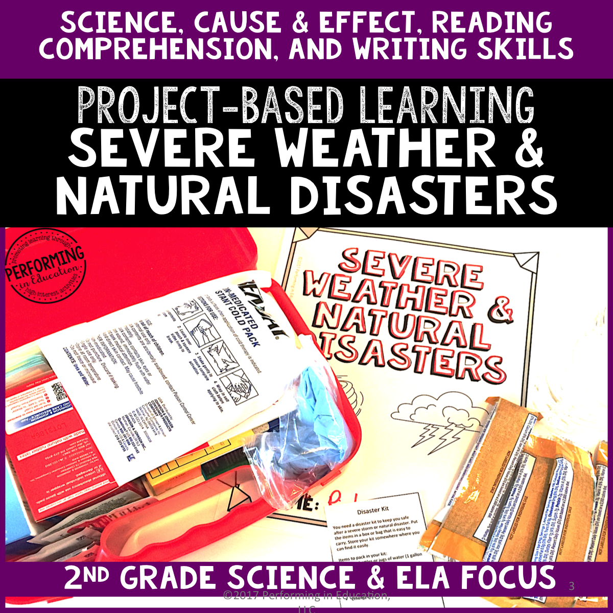 2nd Grade Project-Based Learning: Severe Weather and Natural Disasters 00062
