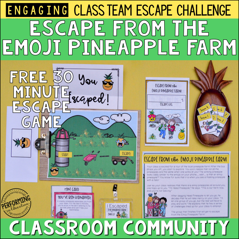 Free Classroom Community Escape Room Game 00078