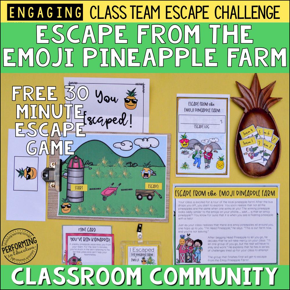 Free Classroom Community Escape Room Game 00078