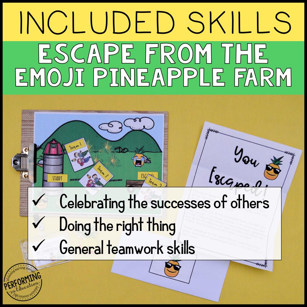 Free Classroom Community Escape Room Game